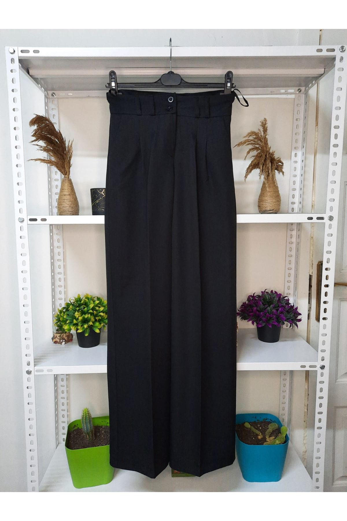 Pallazo pantolon - Siyah