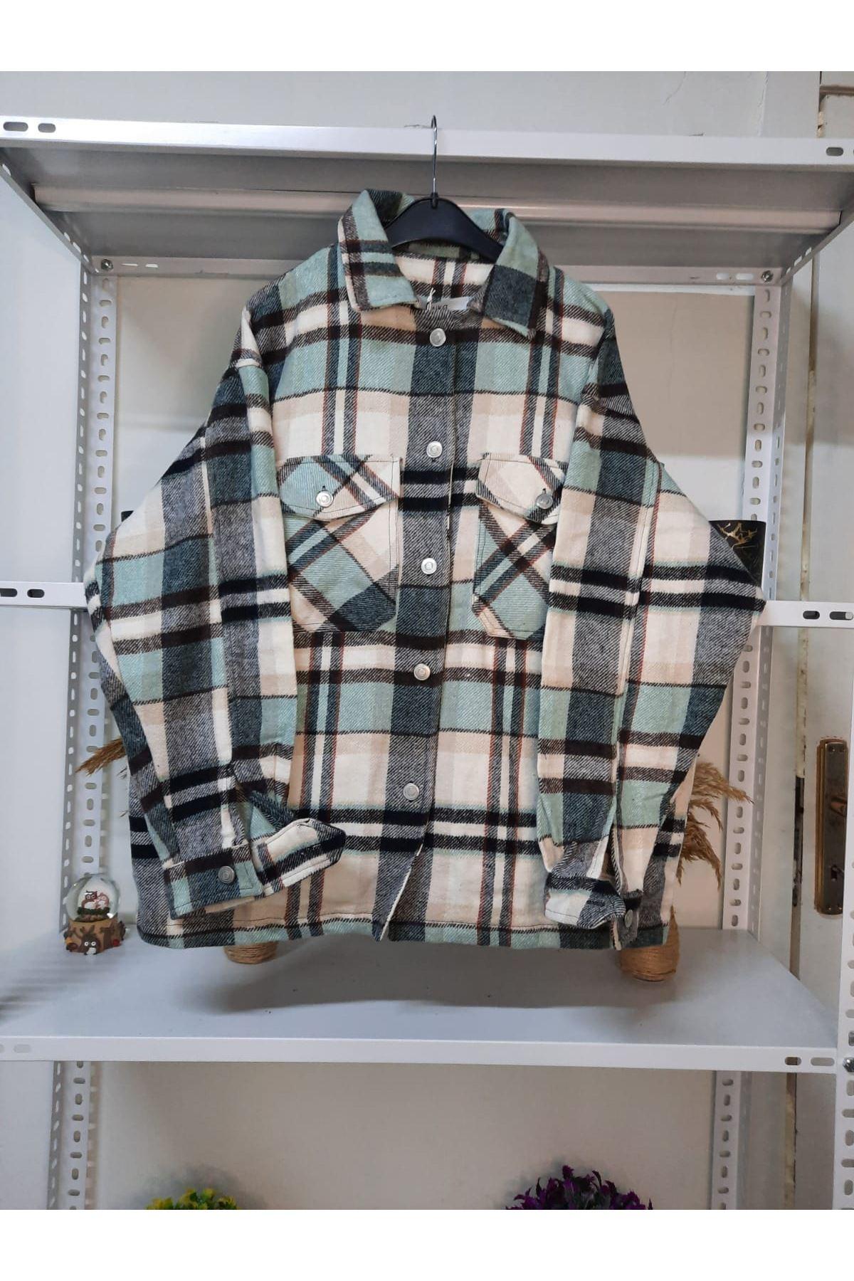 Ekoseli Oduncu Gömlek - MİNT