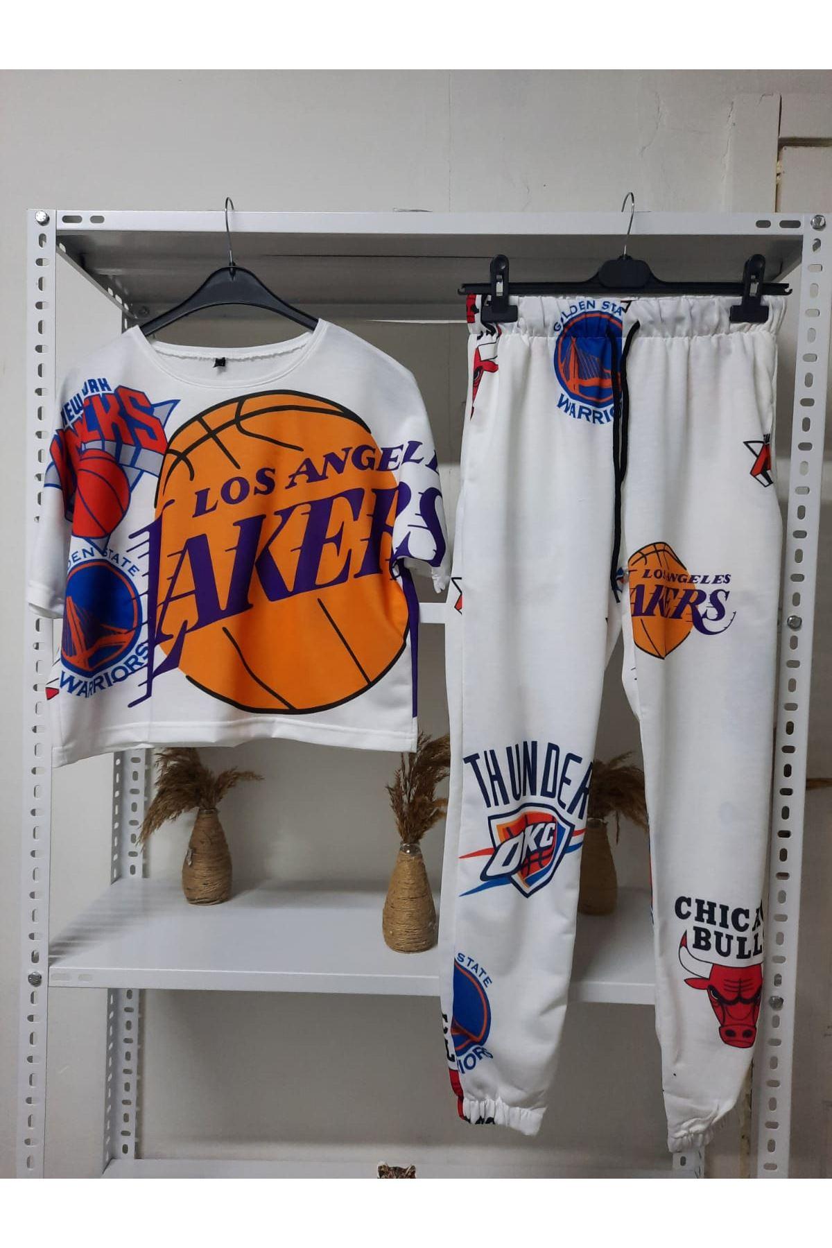 Lakers Baskılı Takım - Multi