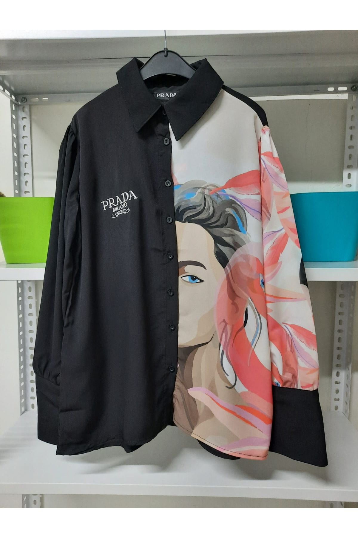 PRD Model Gömlek - Siyah