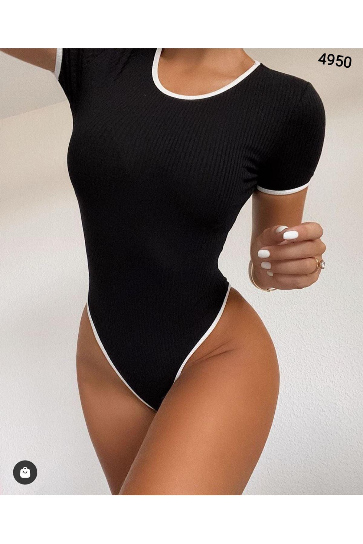 Kaşkorse Bodysuit - SİYAH