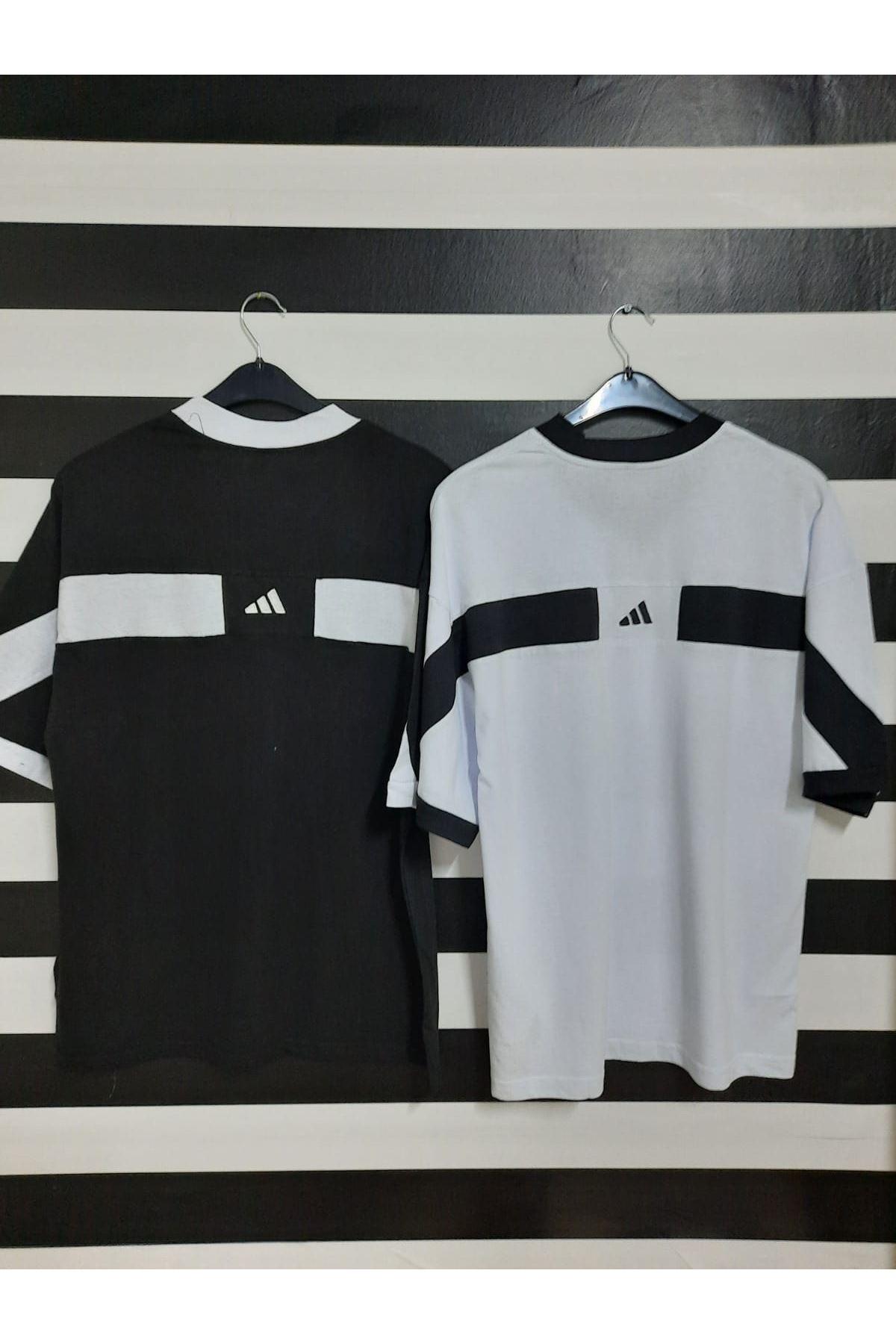 ADD Nakış Detaylı Tshirt - BEYAZ