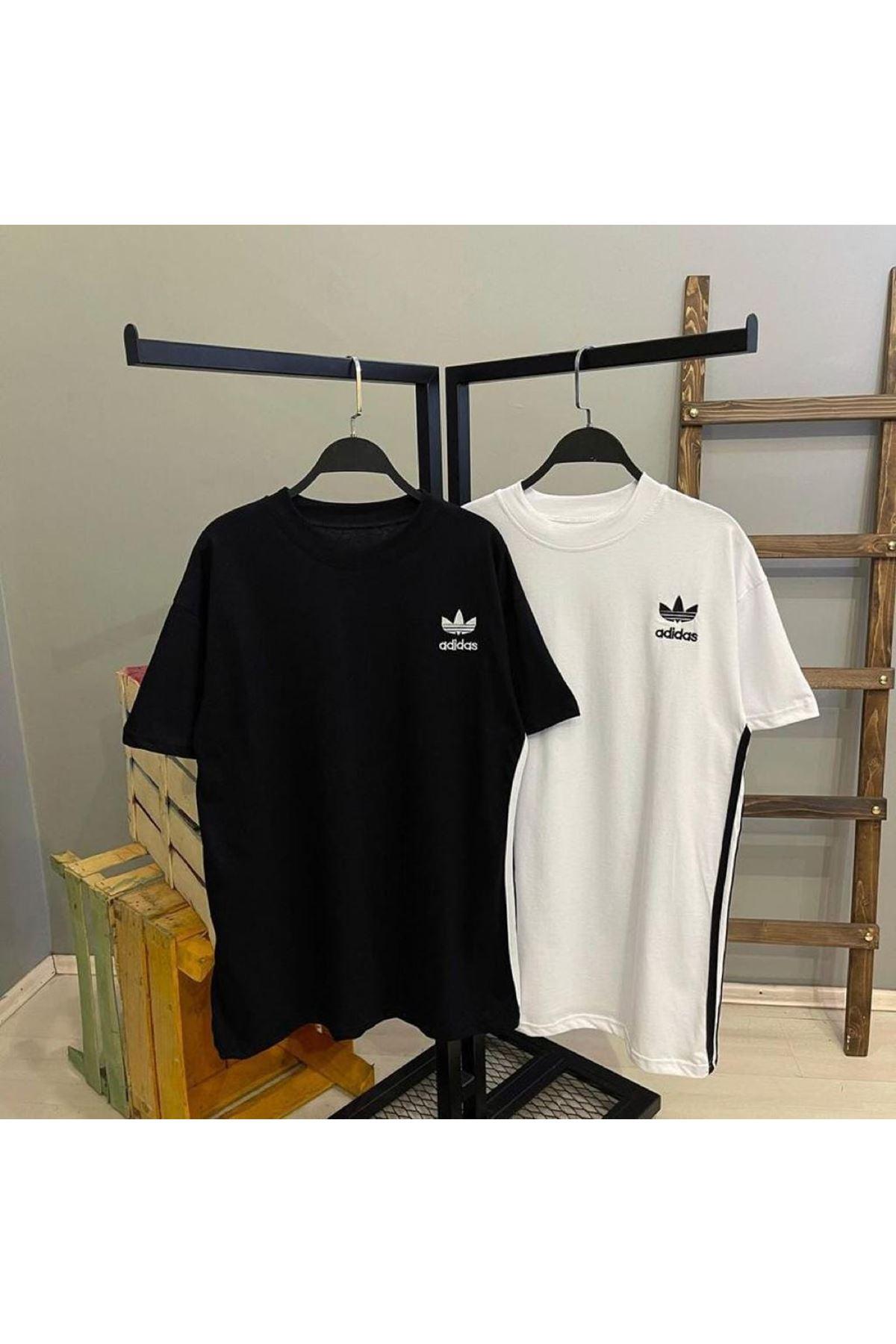 ADD Nakış Detaylı Tshirt - SİYAH