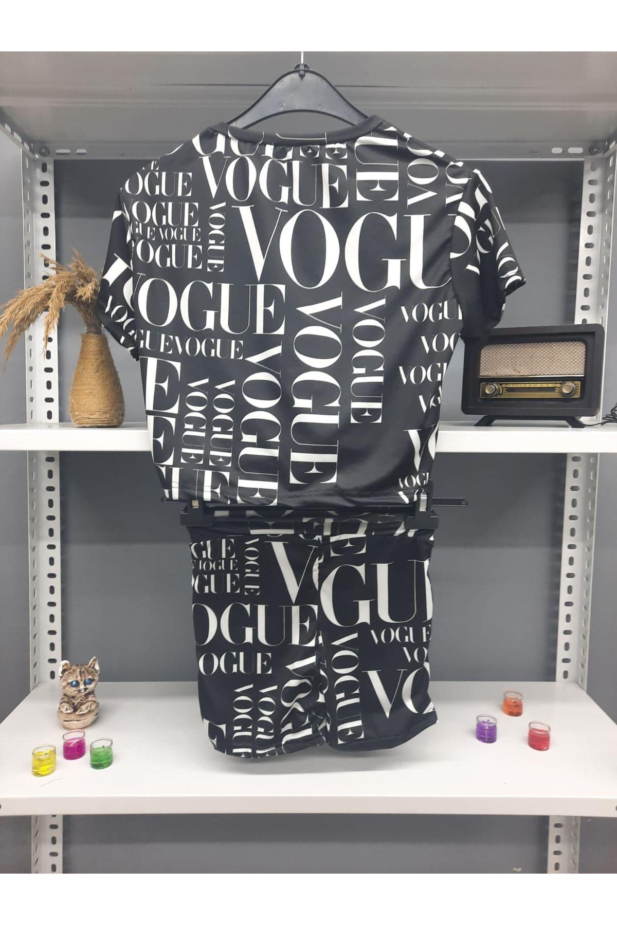 VOG Model Şortlu Takım - SİYAH