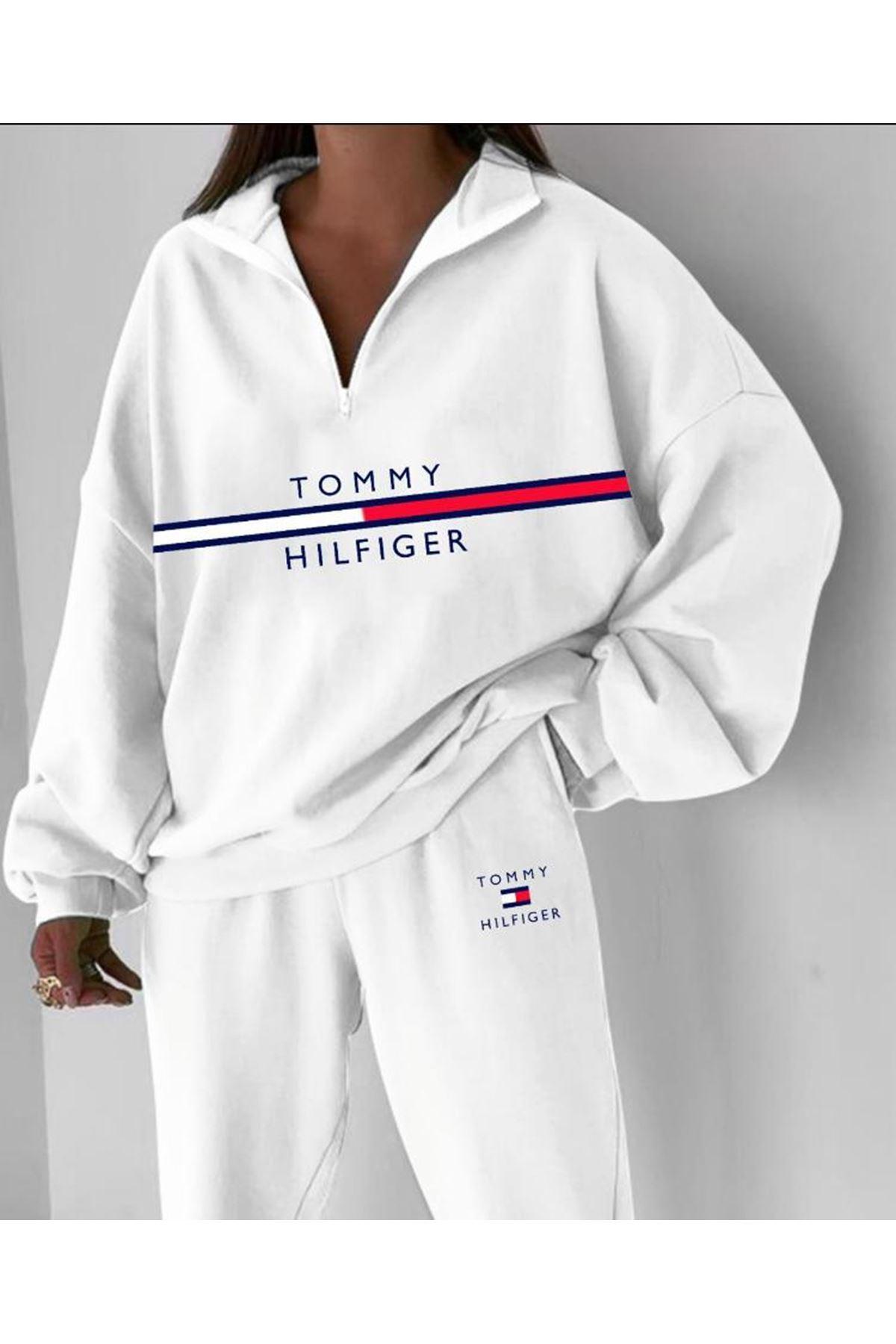 Tmmy Spor İkili Takım - Beyaz