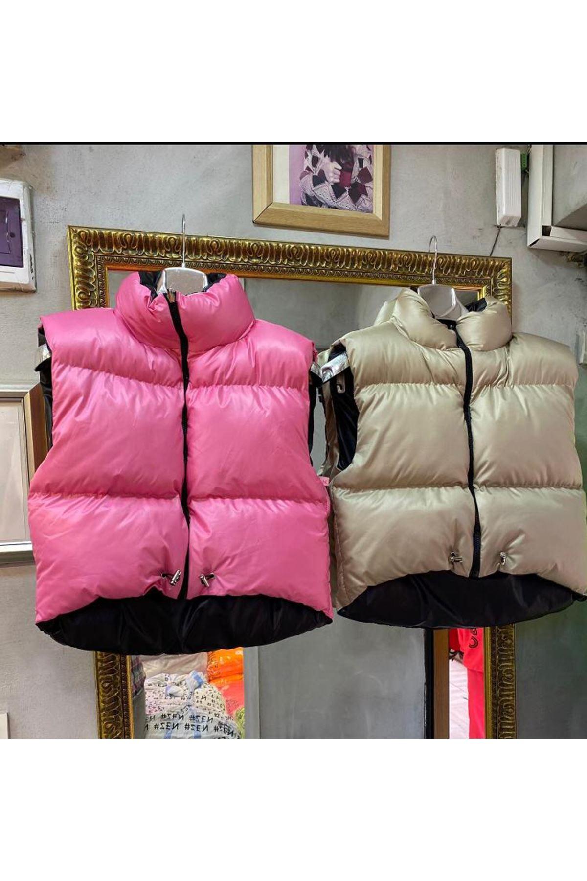 Zara Model Şişme Yelek - BEJ