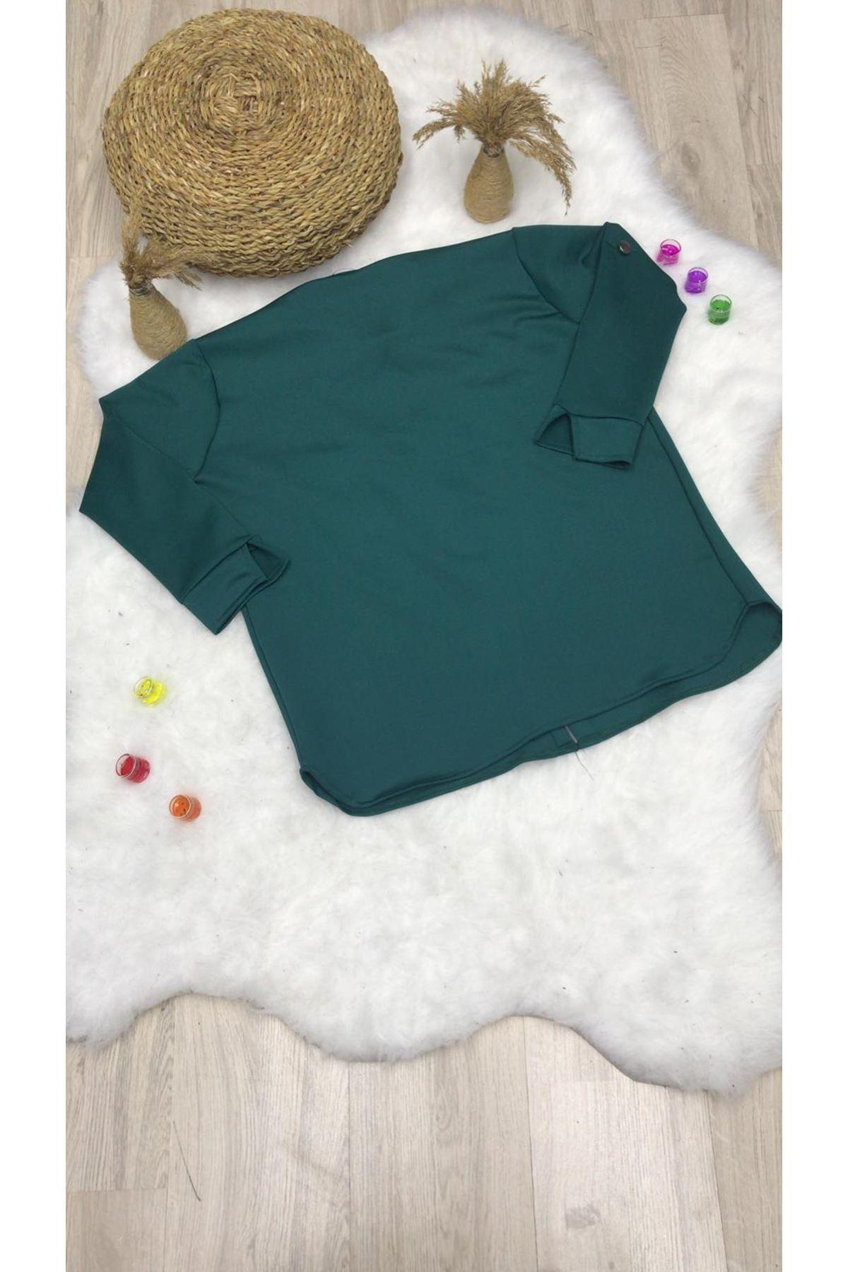 Scuba Dalgıç Kumaş Ceket - YEŞİL